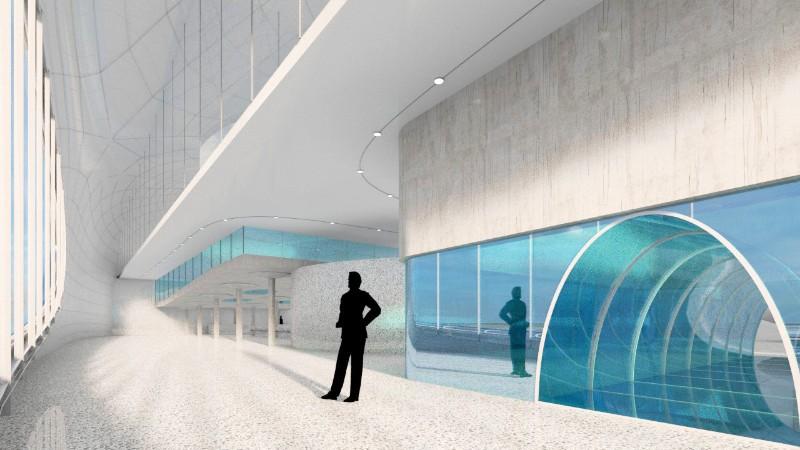 DC-52 návrh hloubkového bazénu pro potápěče v Čestlicích